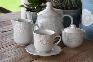 Poháre, šálky, misy, obedové a čajové súpravy