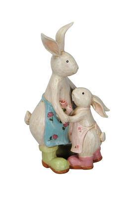 Zajačiky mama a dieťa