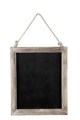 Drevená tabuľa na písanie