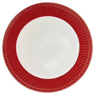 GreenGate tanier dezertný Alice red - 1