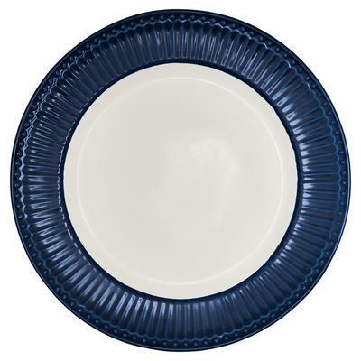 GreenGate tanier plytký Alice dark blue - 1