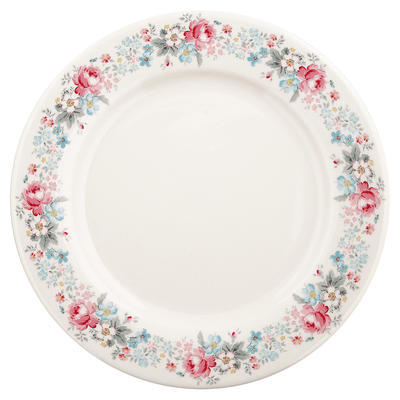 GreenGate tanier plytký Marie pale grey - 1