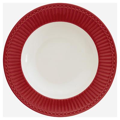 GreenGate tanier hlboký Alice red - 1