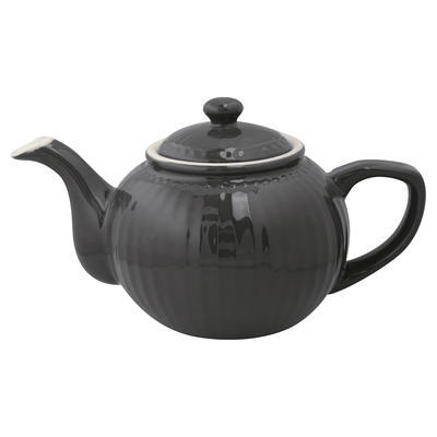 GreenGate čajník Alice dark grey