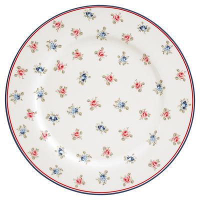 GreenGate tanier plytký Hailey white - 1