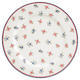 GreenGate tanier plytký Hailey white - 1/2