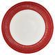GreenGate tanier plytký Alice red - 1/2