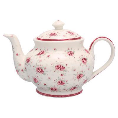 GreenGate čajník Flora white - 1