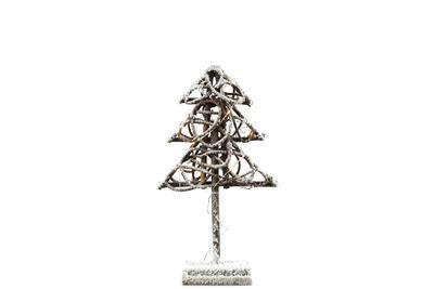 Zasnežený stromček Marlin LED natural, Stromček Marlin LED S