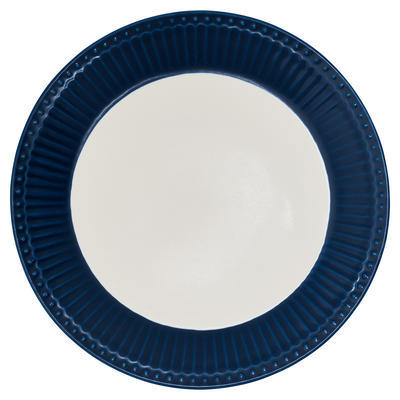 GreenGate tanier dezertný Alice dark blue - 1