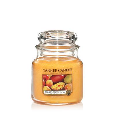 Yankee Candle Mango Peach Salsa, stredná
