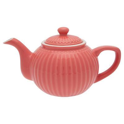 GreenGate čajník Alice coral