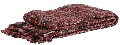 Deka, prikrývka, prehoz 150x125 cm SELVIK dark pink