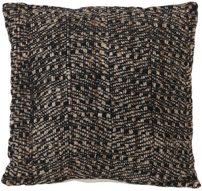 Dekoračný vankúš 45x45 cm DENTES dark brown - 1