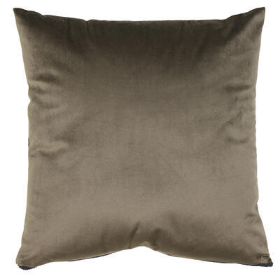Dekoračný vankúš 45x45 cm MERENG brown - 1