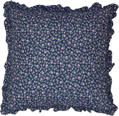 Dekoračný vankúš GreenGate Berta dark blue 50x50