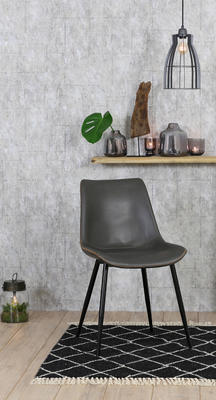 Jedálenská stolička KOVAC grey - 1
