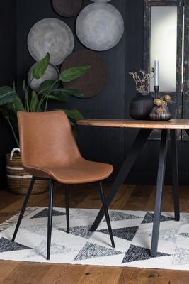 Jedálenská stolička KOVAC brown - 1