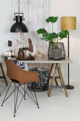 Jedálenská stolička SERBIN brown - 1