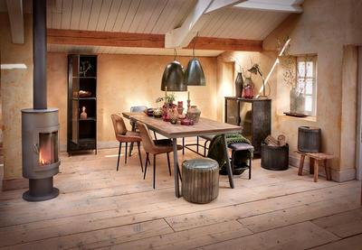 Jedálenský stôl CEIRA old grey - 1