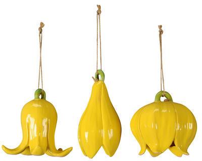 Keramický zvonček - závesná dekorácia