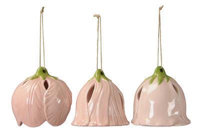 Keramický zvonček - závesná dekorácia výška 12cm