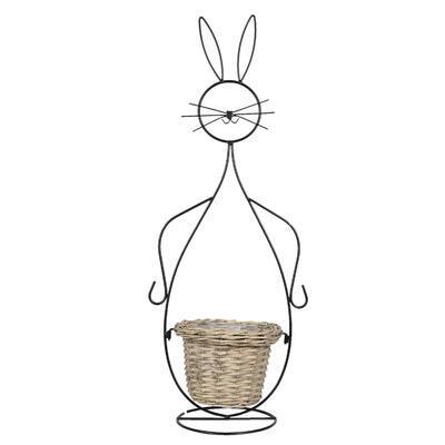 Košík - obal, stojan na rastlinu 20*31*83 cm/ 15*23*67 cm - 1
