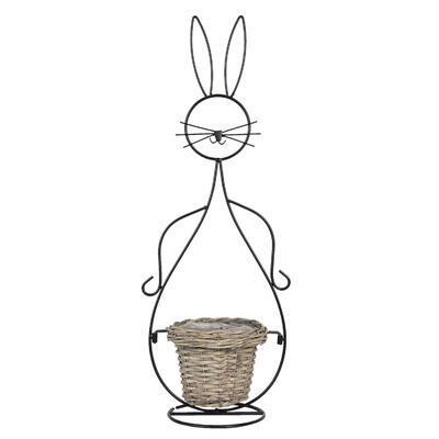 Košík - obal, stojan na rastlinu 20*31*83 cm/ 15*23*67 cm, výška 83cm