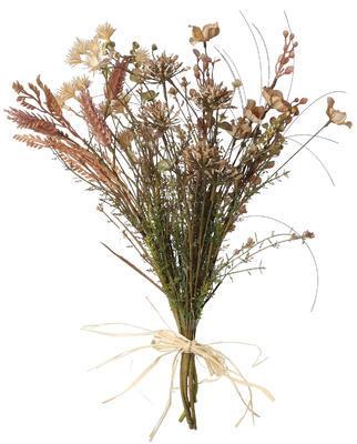 Umelá kytica - sušené lúčne kvety - 1