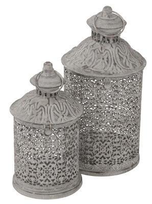 Lampáš - svietnik -lucerna 21cm a 28cm, rozmer 15x28,5cm