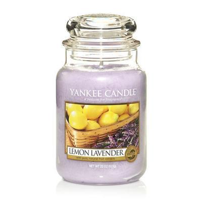 Yankee Candle Lemon Lavender,  veľká