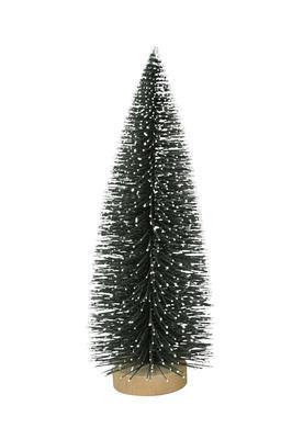 Dekoračný zasnežený stromček 29cm/40cm