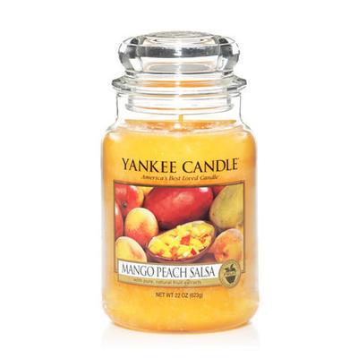 Yankee Candle Mango Peach Salsa,  veľká