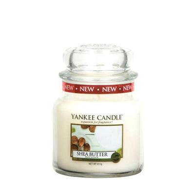 Yankee Candle Shea Butter, stredná