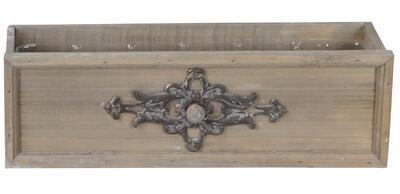 Šuflík drevený - obal na rastlinu 42x15x12cm - 1
