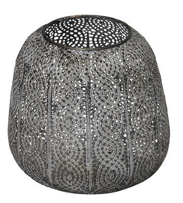 Svietnik - lampáš kovový priemer 18cmx18cm