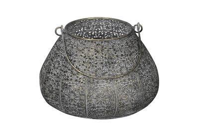 Svietnik - lampáš kovový priemer 19,5cm