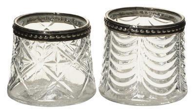 Svietnik na čajovú sviečku 6,5x5,5cm