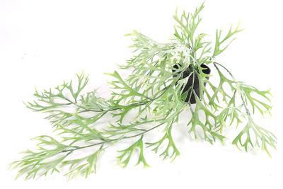 Kvet v kvetináči - Platycerium ťahavá umelá dekoračná rastlina