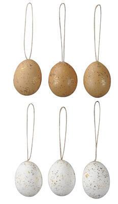 Vajíčko závesné 6ks 4,5x6cm
