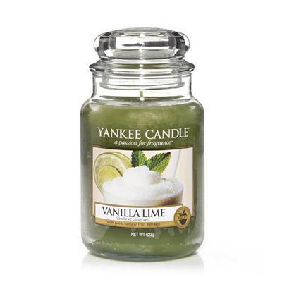 Yankee Candle Vanilla Lime,  veľká
