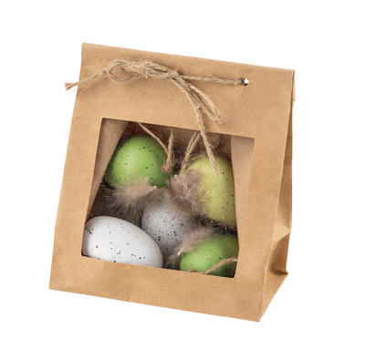 Veľkonočné vajíčko, bielo-zelené