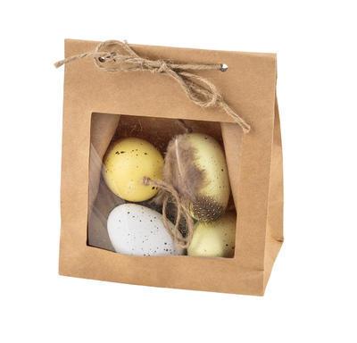 Veľkonočné vajíčko, bielo-žlté