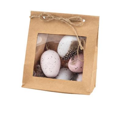 Veľkonočné vajíčko, bielo-ružové