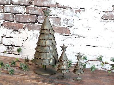 Vianočný dekoračný stromček 10cm x 4,5cm - 1