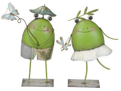 Záhradná žabka/žabiak výška 29,5cm- 33,5cm, žabka