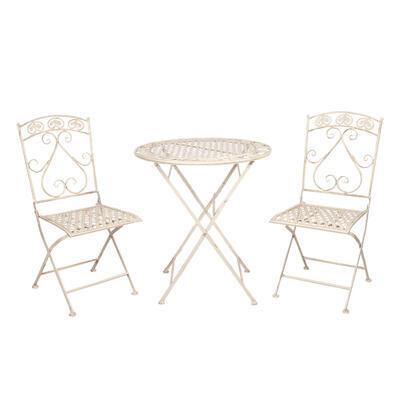 Záhradný nábytok stôl a 2 stoličky set - 1