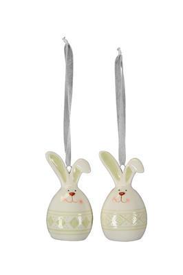 Zajačik - dekorácia na zavesenie