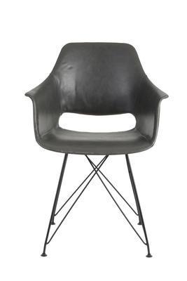 Jedálenská stolička SERBIN grey - 2