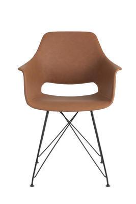 Jedálenská stolička SERBIN brown - 2
